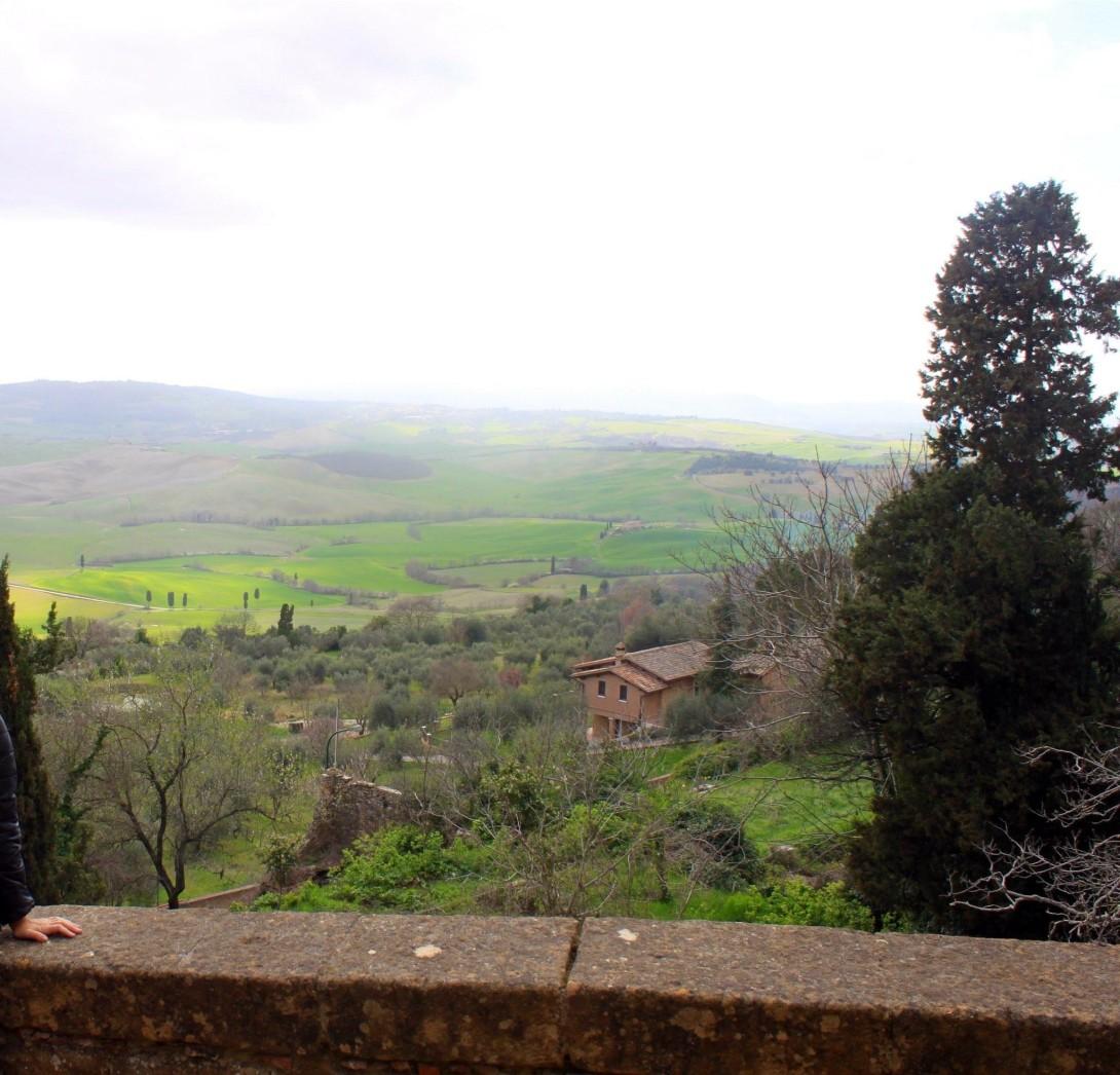 Pienza i Toscana en perle