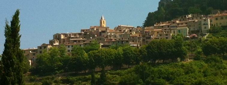 Vakre landsbyer i sør frankrike.