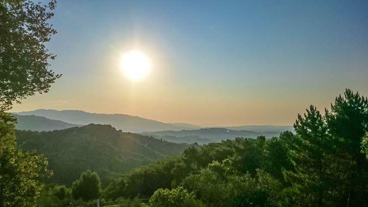 Drømmested i Toscanas åser.