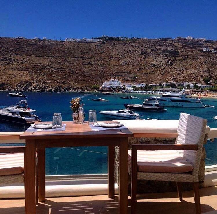 Boutique hotell i verdensklasse, på Mykonos.