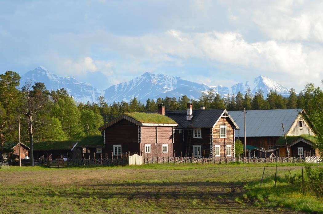 Kvebergsøya Gard en unik fjellgård !