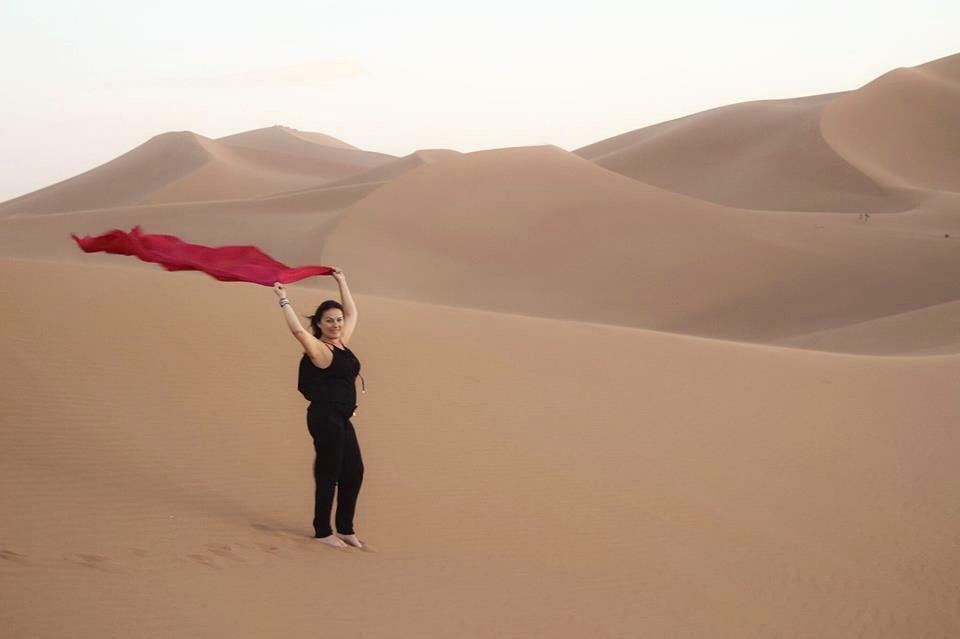 Stjerner og reise gjennom Sahara ! En opplevelse!